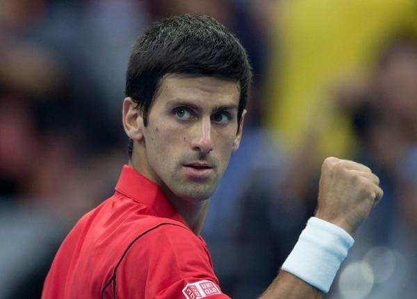 Novak Djokovic participa en el Abierto de tenis de China.