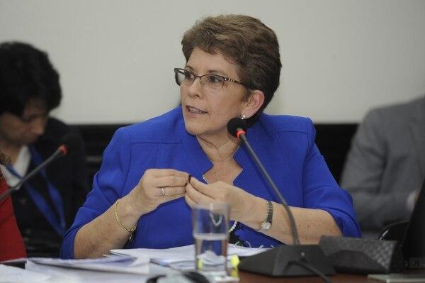 La contralora Marta Acosta reiteró que ya no hay tiempo para atender la crisis fiscal. Foto: Archivo.