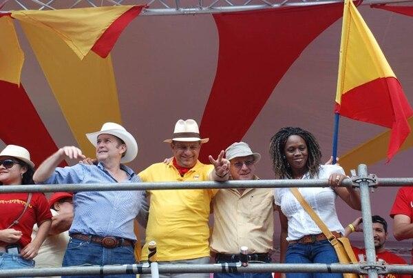El PAC estuvo presente en el Tope Palmares 2014