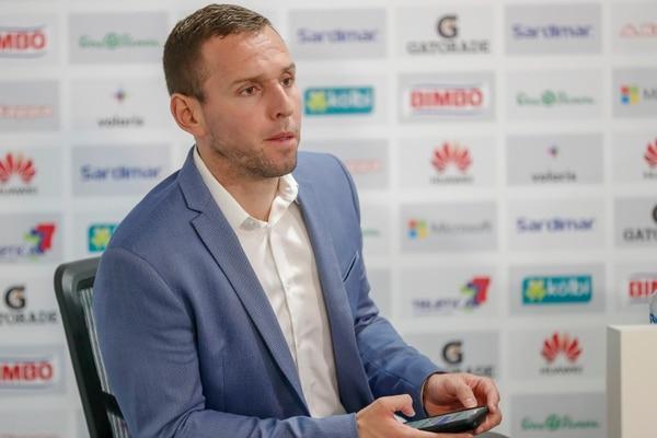 Kurt Morsink es representante de jugadores. Fotografía José Cordero