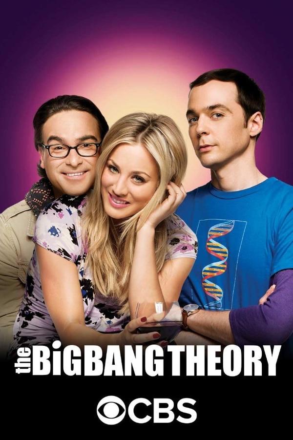 Johnny Galecki, Kaley Cuoco y Jim Parsons (de izquierda a derecha) negociaron en conjunto y lograron contratos de $1 millón por cada episodio de The Big Bang Theory . cortesía de Warner Bros.
