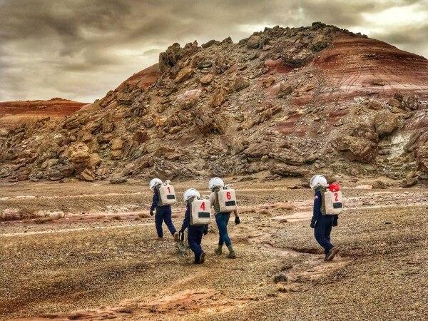 Esta es la tercera ocasión que Costa Rica es representada en una de estas simulaciones de lo que sería vivir y trabajar en el planeta rojo. Foto: Suministrada por el IICA