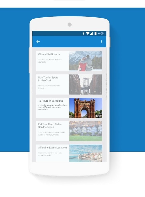 El programa AMP (siglas en inglés de Accelerated Mobile Pages) pretende, con ayuda de diversas publicaciones de noticias, agilizar el tiempo de carga de las páginas Web en dispositivos móviles.
