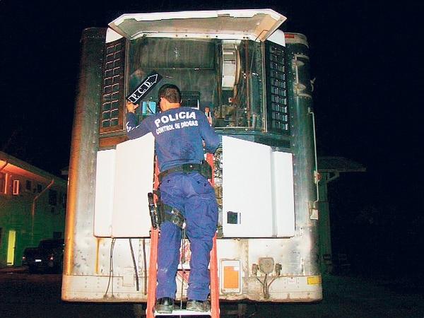 La droga estaba oculta en el sistema de refrigeración. | PCD PARA LN