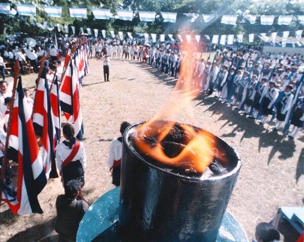 La tea recorre las naciones del Istmo para rememorar la independencia de España hace 192 años