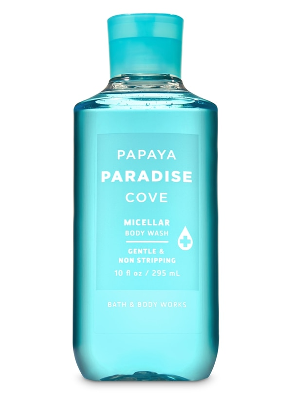 Jabón de baño Papaya Paradise Cove. Bath and Body Works