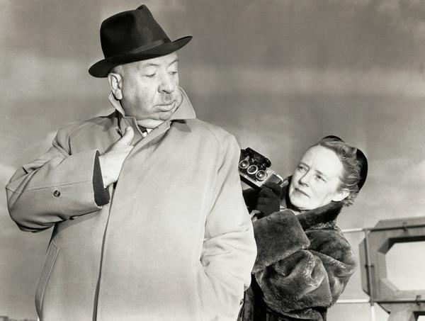 Alfred Hitchcock nunca aprobaba nada sin el consentimiento de Alma Reville, su esposa.