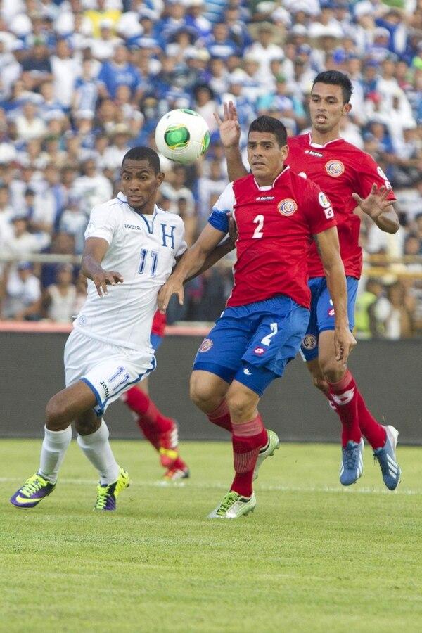 Jerry Bengston anotó el gol de la victoria para los hondureños.