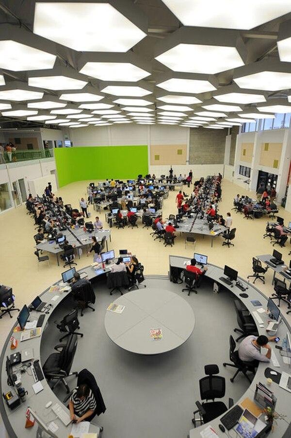 Grupo Nación integró sus redacciones en un solo edificio desde el 9 de setiembre anterior.