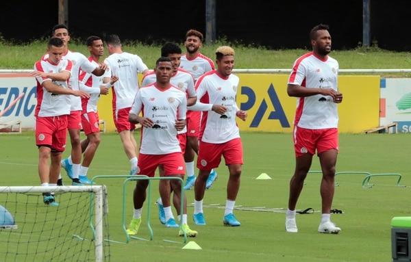 La Selección Nacional se mide hoy ante Haití en Bahamas. Fotografía: Alonso Tenorio