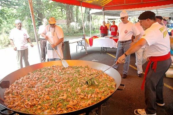 La paella gigante celebrará los 450 años de la fundación de Cartago. | ARCHIVO