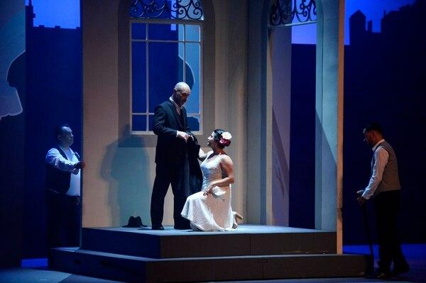 Chacón protagonizó el año anterior Don Giovanni, de Mozart. Fotos de Diana Méndez