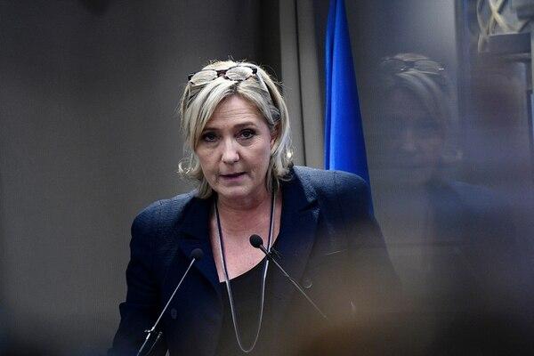 Marine Le Pen, aspirante presidencial por el Frente Nacional de Francia, expuso el viernes sus posiciones sobre la atención sanitaria en Europa.