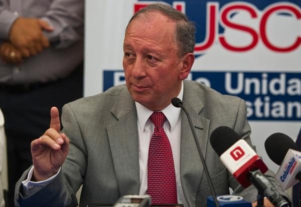 Rodolfo Hernández, candidato del PUSC, alegó que no asistió al lanzamiento de la campaña electoral en el TSE porque estaba comprometido a participar en un entrenamiento sobre medios de comunicación.