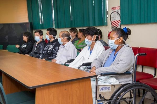 La CCSS presentó a los últimos seis trasplantados. | RÓNALD PÉREZ