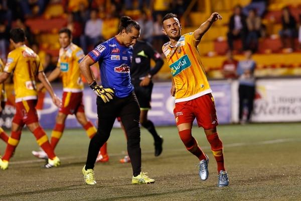 Herediano le ganó 1 a 0 a Belén con gol de Keven Alemán