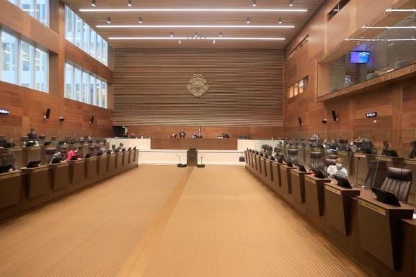 Asamblea Legislativa. Diputados de las diferentes fraccciones dieron aval final al proyecto de ley cuestionado por autoridades técnicas. Foto: Rafael Pacheco