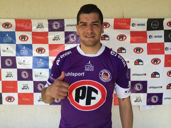 Nino Rojas será el nuevo delantero manudo.