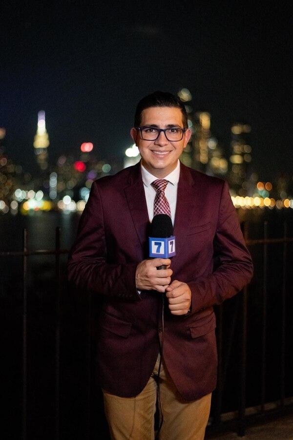 El periodista Elías Alvarado es oriundo de Pérez Zeledón y vive desde hace seis años en Nueva York. Foto: cortesía Elías Alvarado.