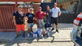 Golfistas costarricenses se solidarizan con sus 'caddies'