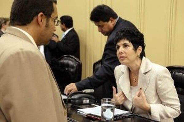 La diputada del Movimiento Libertario, Patricia Pérez, se apartó del criterio de sus compañeros de bancada que mandaron a el proyecto que reforma la ley de vida silvestre a revisión a la Sala IV. | ARCHIVO.