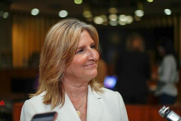 La Fiscala General de la República, Emilia Navas, continuará ens u puesto de forma interina. Fotografía: José Cordero