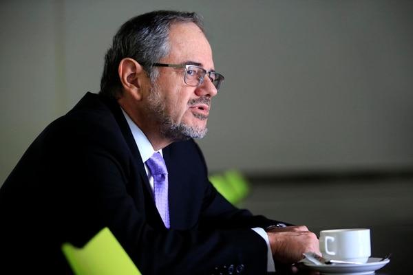 Bernardo Alfaro, nuevo gerente general del Banco Nacional. Foto: Rafael Pacheco