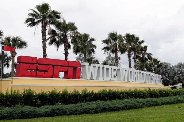 En este complejo en Disney es en donde podría reanudarse la NBA. Fotografía: AP