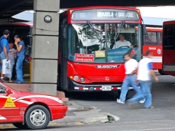 El hecho ocurrió en la terminal de buses de Tuasa en San José.