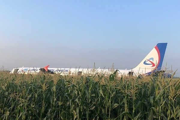 El avión había despegado rumbo a Simféropol, principal ciudad de la península ucraniana de Crimea. AFP PHOTO / RUSSIAN INVESTIGATIVE COMMITTEE / HO