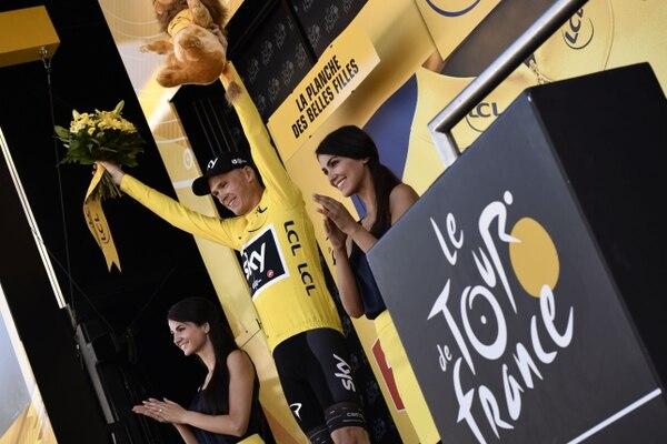 Chris Froome es el nuevo líder del Tour.
