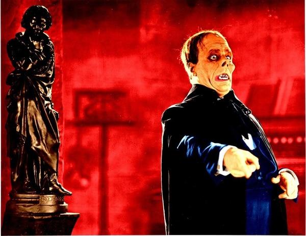 'El fantasma de la ópera' se exhibirá en formato mudo este sábado en la Sala Garbo. Fotografía: Cortesía Mi Butaca Cine Club.