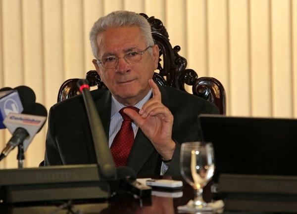 Olivier Castro, presidente del Central, dijo que aún no van a tomar medidas con el crédito.   ALBERT MARÍN