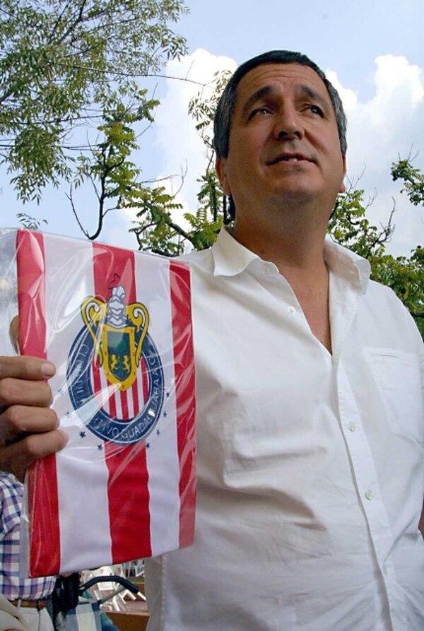 Jorge Vergara fue dueño del Saprissa y también es propietario del Chivas USA. / Archivo