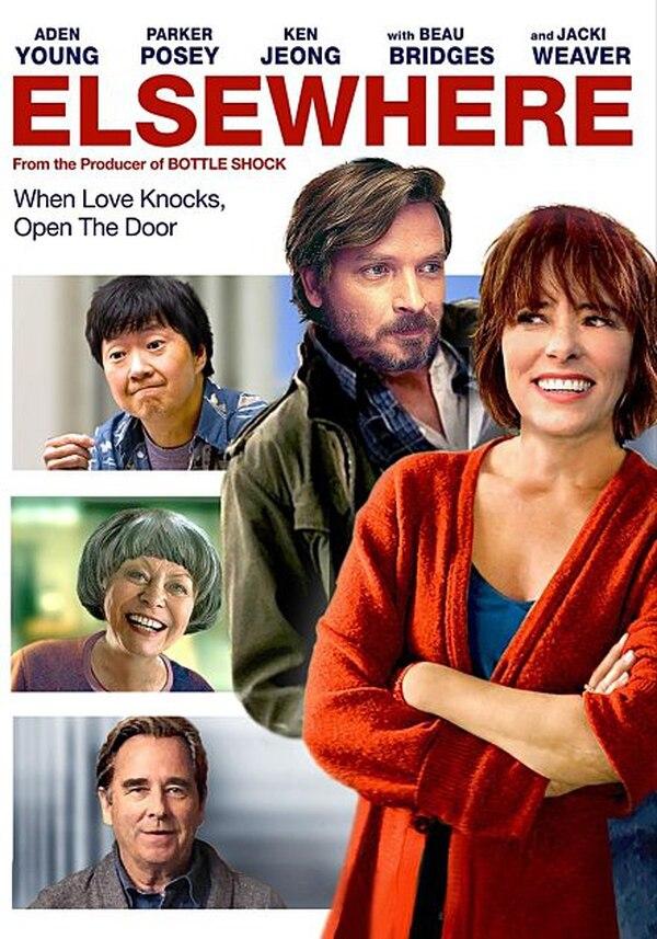 Uno de los pósters oficiales de 'Elsewhere', con que se promocionó la película en Estados Unidos. Archivo