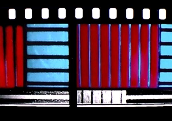 En 'Dresden Dynamo' (1971), de Lis Rhodes, la imagen es la banda sonora. Foto: Cortesía de CRFIC 2020.