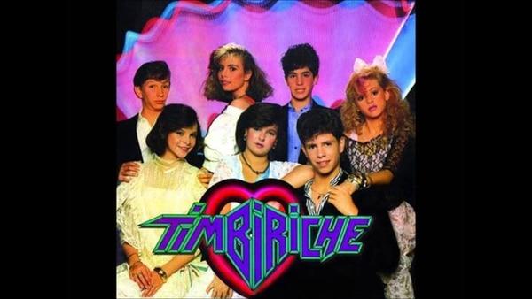 Timbiriche en sus viejos tiempos. La banda fue creada en 1982, en México. Archivo