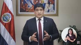 Carlos Alvarado pide a Asamblea del Banco Popular enviarle propuestas de su mesa de diálogo