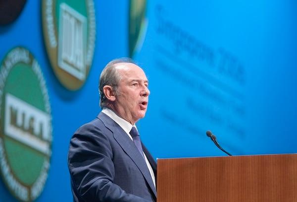 Rodrigo Rato fue director-gerente del FMI.