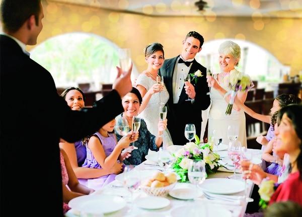 ¿Con plan de boda? Deje que los expertos se encarguen de todos los preparativos.