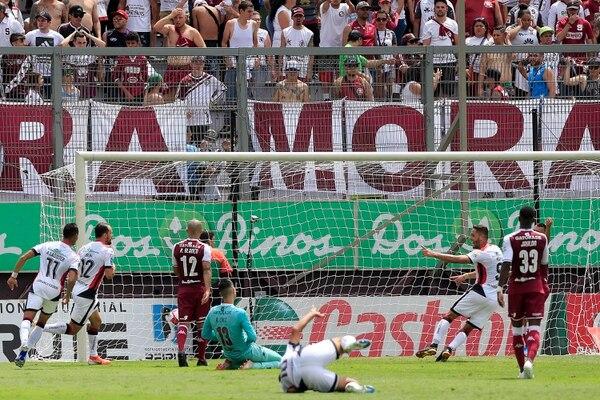 Ese clásico del 6 de octubre de 2019 entró a la historia por la cantidad de goles marcados por los rojinegros en el Ricardo Saprissa. Fotografía: Rafael Pacheco