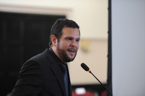 En abril de 2019, participó en la presentación del proyecto de ley de Creación de la primera agencia espacial de Costa Rica. Fotos Melissa Fernández