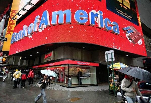 Bank of America anunció al mismo tiempos cierra en Filipinas, México y Costa Rica.