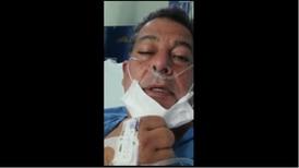 'Me falta un poco el aire, me tienen oxigenación', dice alcalde de Tibás hospitalizado por covid-19