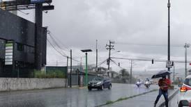 Paso de ondas tropicales traerá más lluvias al Pacífico y el Valle Central