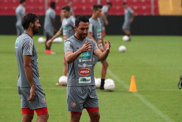 Entrenamiento de la Selección Nacional en el Morera Soto. Foto: Graciela Solís.