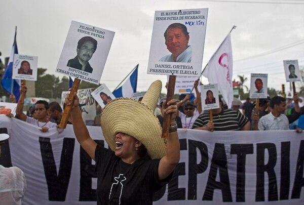 En junio del 2013, grupos opositores al Gobierno nicaragüense también se manifestaron en contra de la construcción del canal. | ARCHIVO
