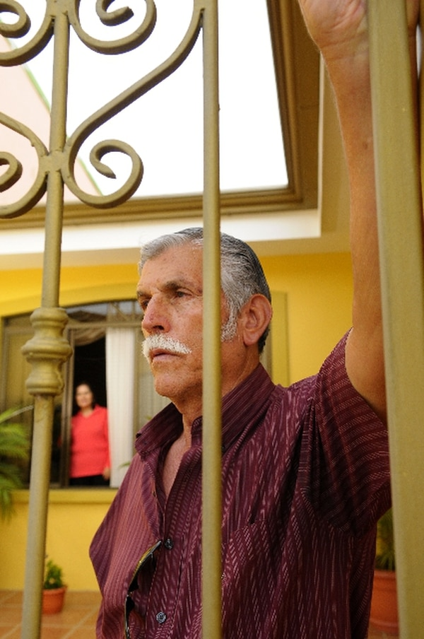 Don Alfonso y doña Carmen sufrieron un asalto.   LUIS NAVARRO.