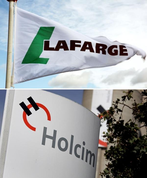 Lafarge tiene sede en Francia y Holcim en Suiza.