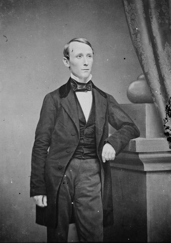 William Walker, el aventurero estadounidense que llegó a ser presidente de Nicaragua (1856-1857). Estudió medicina en la Universidad de Nashville, por la que se licenció en 1843; posteriormente cursó estudios de derecho y ejerció la abogacía en Nueva Orleans. Foto: Archivo.